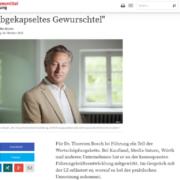 Bosch Führung / Führungsqualität